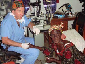 Dr. Christie in Ghana